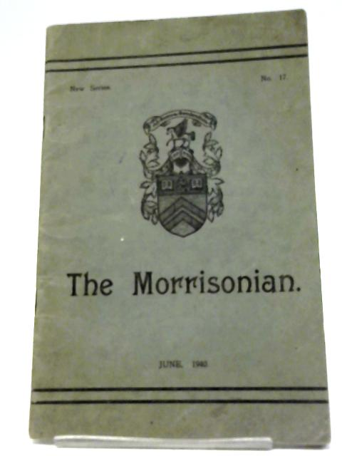 The Morrisonian New Series No 17 By Various