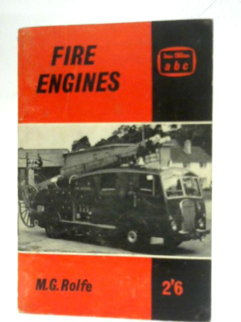 ABC Fire Engines by Michael Rolfe