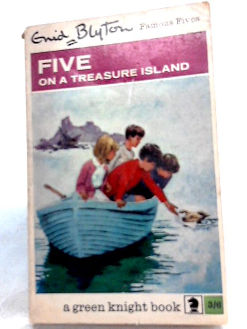 Five on a Treasure Island By Enid Blyton