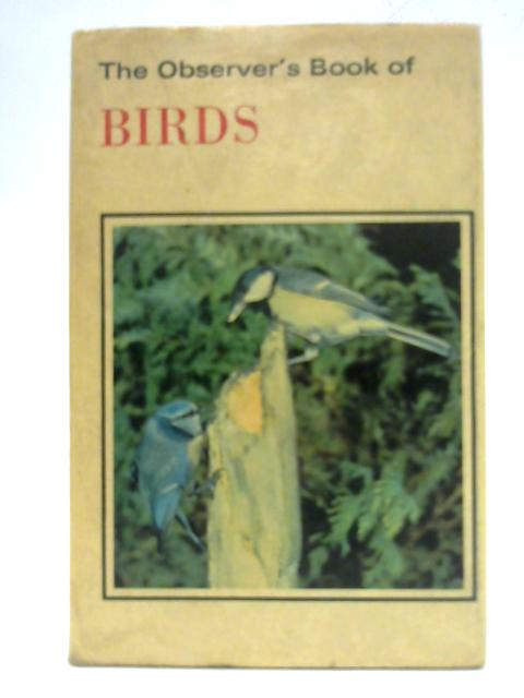 The Observer's Book of Birds By S. Vere Benson