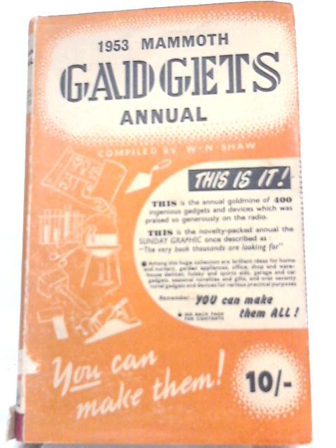 1953 Gadgets Annual