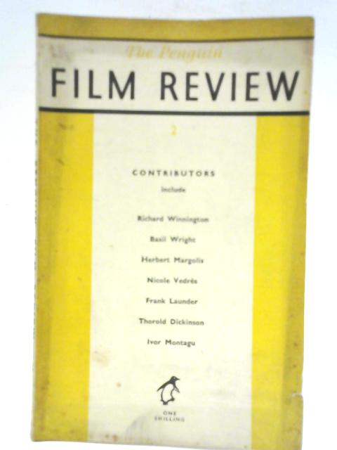 The Penguin Film Review Volume 2 By R.K. Neilson Baxter