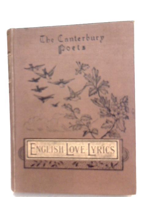 English Love Lyrics By Percy Hulburd