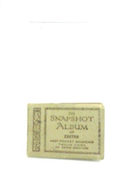 The Snapshot Album of Exeter, Vest Pocket Souvenir