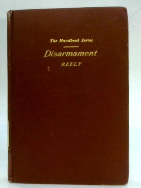 Disarmament By Mary Katharine Reely