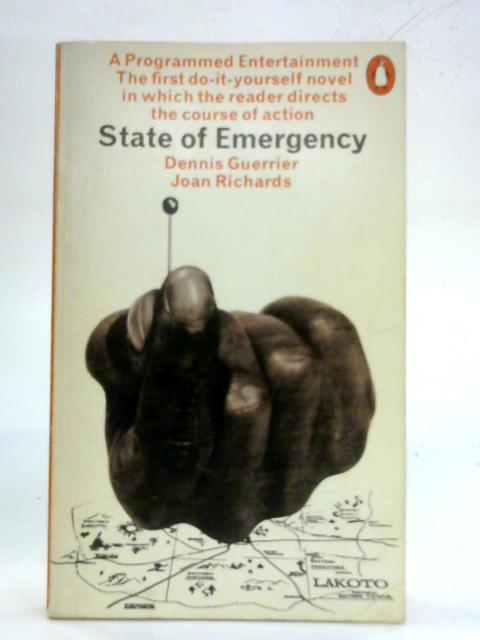 State of Emergency: A Programmed Entertainment By Dennis Guerrier