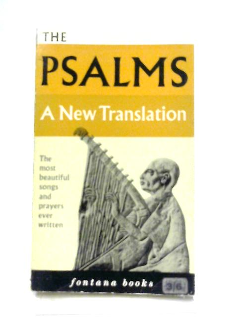 The Psalms a New Translation By Joseph Gelineau