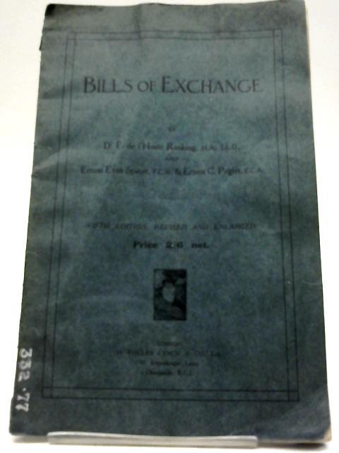 Bills of Exchange By Devey Fearon de l'Hoste Ranking