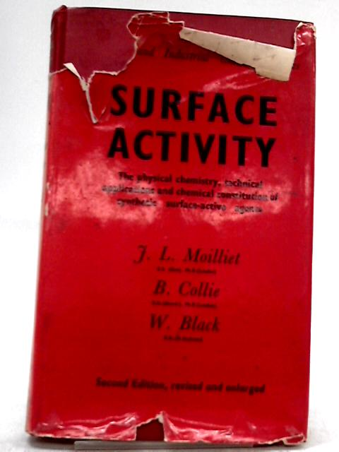 Surface Activity By John Lewis Moilliet