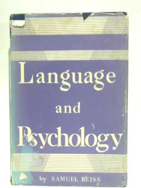 Language and Psychology By Samuel Reiss