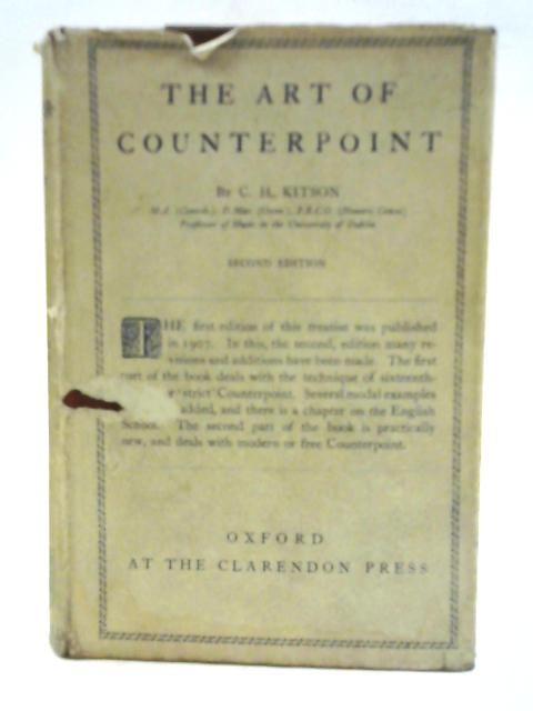 The Art Of Counterpoint By C.H. Kitson