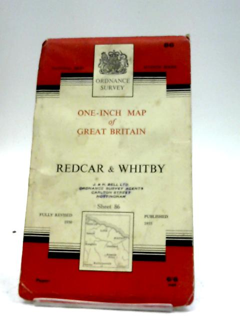 Redcar & Whitby Sheet 86 By Ordnance Survey