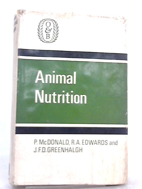 Animal Nutrition by R. A. Edwards