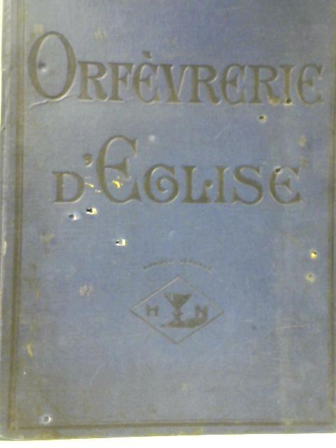 Orfèvrerie D'Eglise Observations by Unstated