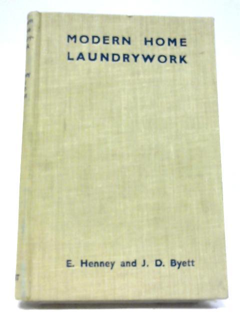 Modern Home Laundrywork by Ethel Henney