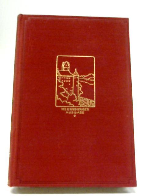 Annette von Droste-Hulshoff. Werke und Briefe. Zweiter Band By Annette von Droste-Hulshoff