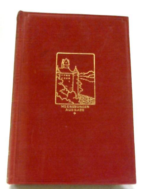 Annette von Droste-Hulshoff. Werke und Briefe. Dritter Band By Annette von Droste-Hulshoff