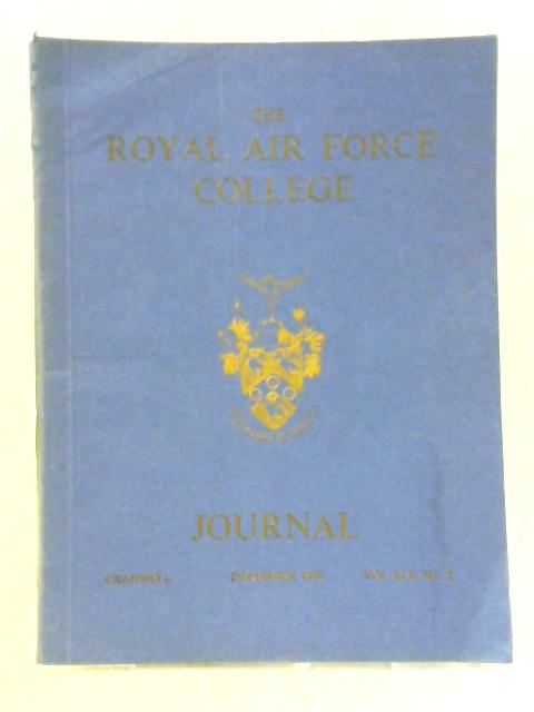The Journal of The Royal Air Force Vol XLII No 2, December 1970