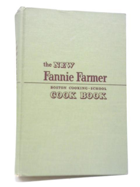 The Boston Cooking-School Cook Book By Fannie Merritt Farmer