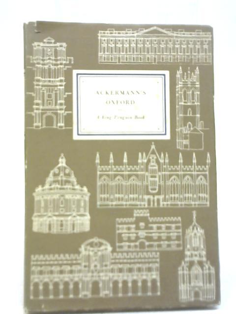Ackerman's Oxford by H M Colvin