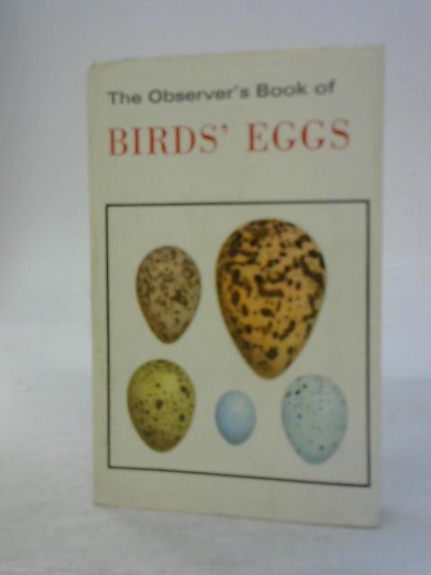 The Observer's Book of Birds' Eggs by Compiled by G. Evans
