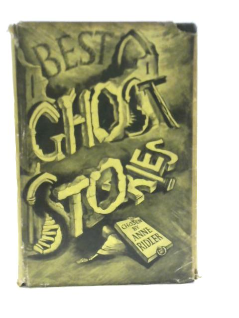 Best Ghost Stories by Anne Ridler