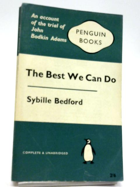 The best we can do By Bedford, Sybille