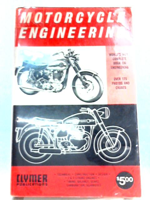 Motorcycle Engineering By P. E. Irving