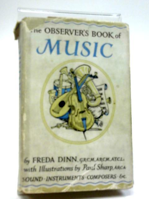 Observer's Book of Music (Observer's Pocket S.) by Freda Dinn