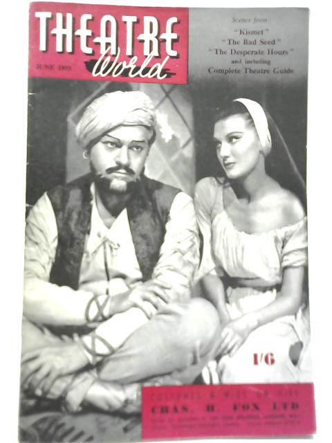 Theatre world June 1955 by Anon