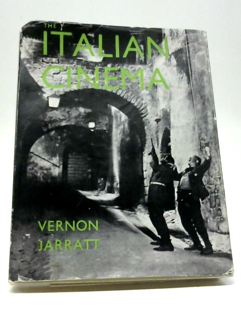 The Italian Cinema (National Cinema Series) By Vernon Jarratt