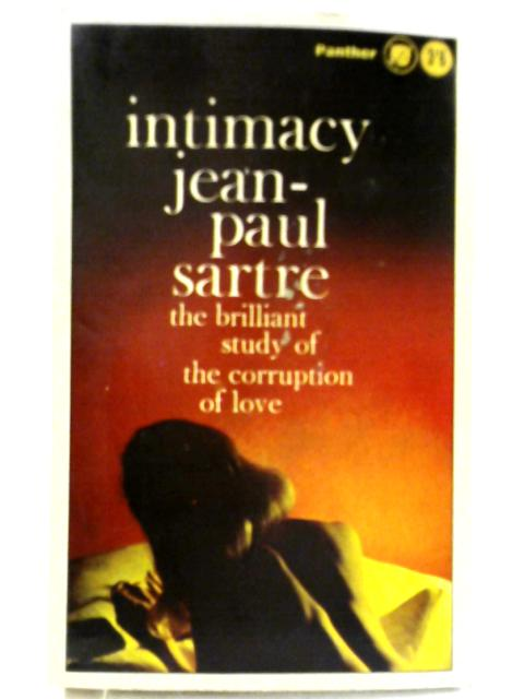 Intimacy (Panther Books - No.1087) By Jean-Paul Sartre