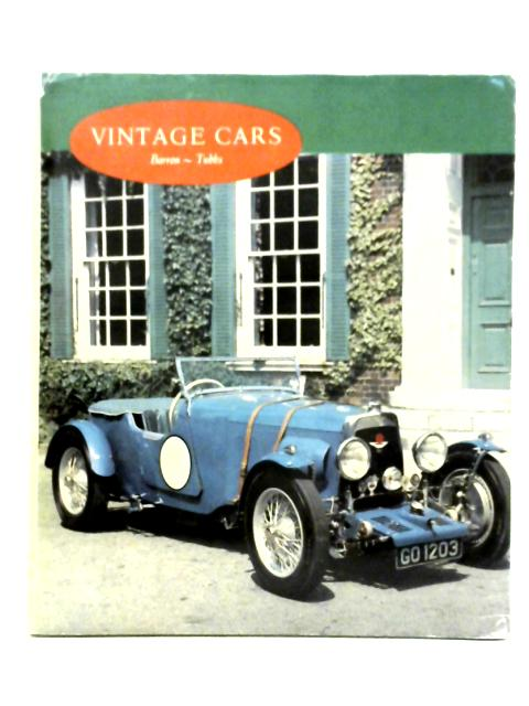 Vintage Cars in Color by D. B. Tubbs & James Barron