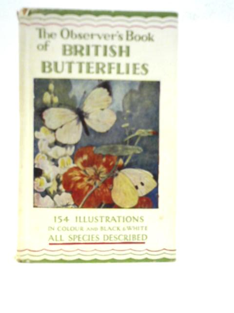 The Observer's Book of British Butterflies by W J Stokoe