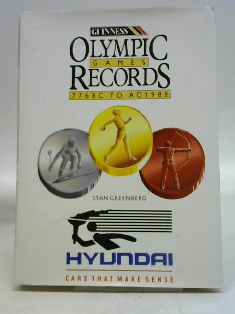 Olympic Games: The Records By Stan Greenberg