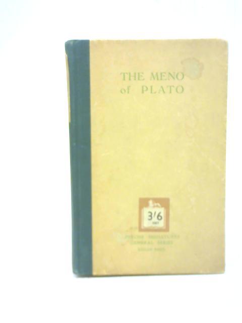 The Meno of Plato in Basic English by J Rantz