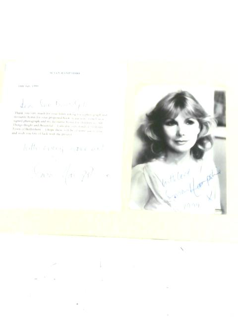 Susan Hampshire - Signed Photographs and Letter By Susan Hampshire