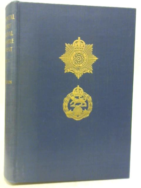Regimental History The Royal Hampshire Regiment Vol 1 to 1914 by C.T. Atkinson