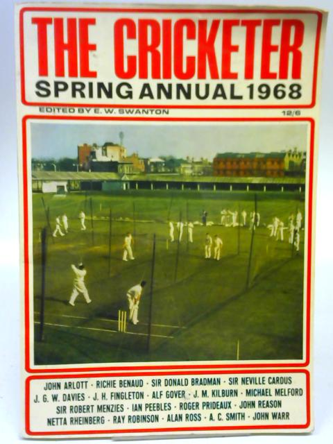 The Cricketer Spring Annual 1968 By E. W. Swanton