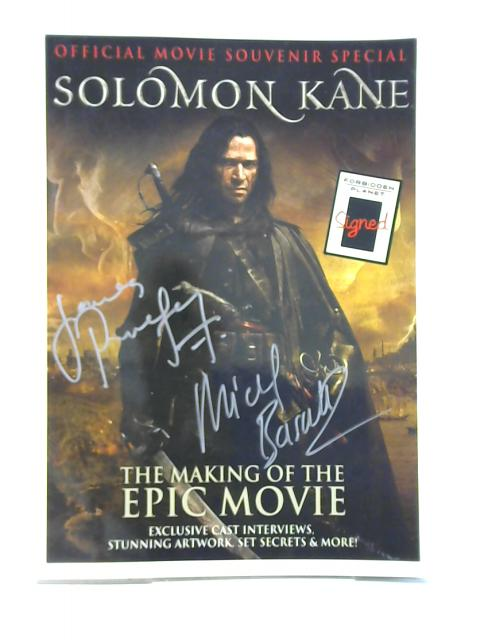 Solomon Kane: Official movie Souvenir Special by Zoe Hedges