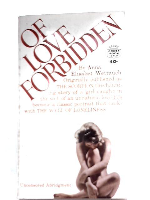 Of Love Forbidden By Anna Elisabet