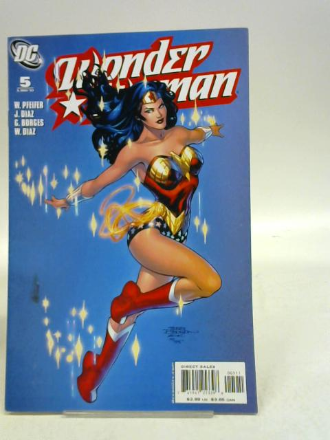Wonder woman Gimme Shelter By Will Pfeifer