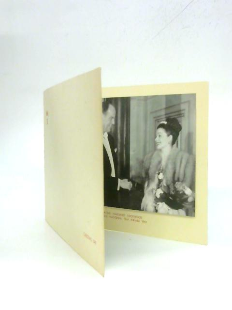 1947 Christmas Greetings Card from Lord and Lady Rothermere By Anon