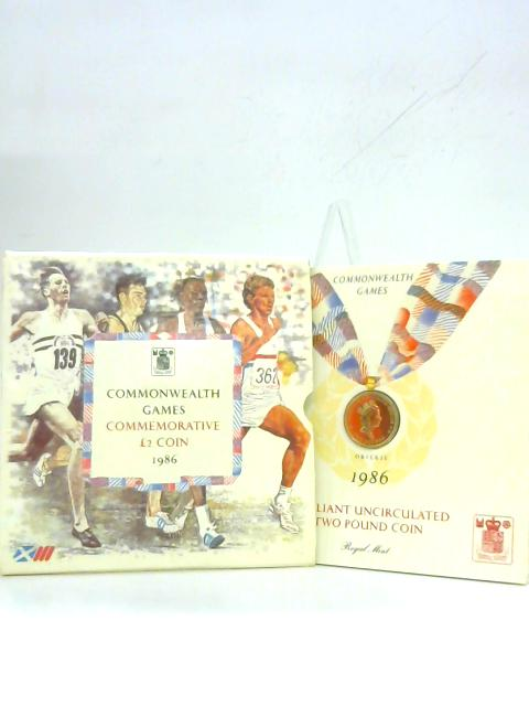 Commonwealth Games Commemorative £2 Coin 1986 by Anon