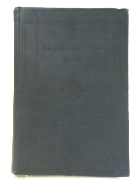 Congregational Church Hymnal: Part III Anthems by George Barrett and Josiah Booth