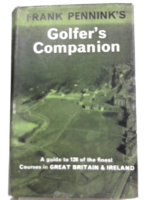 Golfer's Companion by Frank Pennink