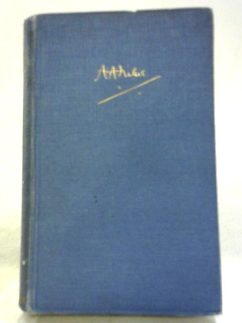 Not That It Matters by A A Milne