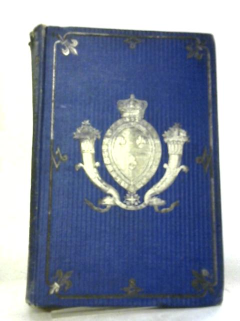 The History of the Restoration of Monarchy in France Volume I by Alphonse De Lamartine