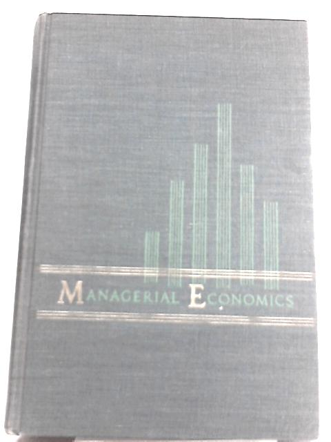 Managerial Economics By Dean Joel