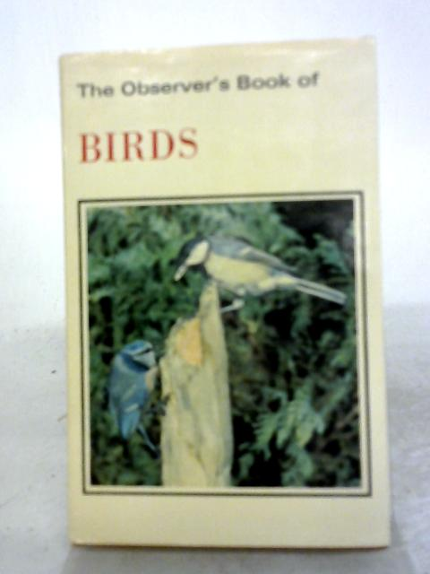 The Observer's Book of Birds By S V. Benson